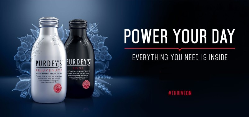 Purdey's Power Your Day #ThriveOn