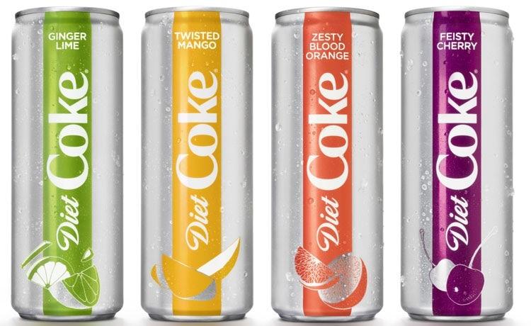 Diet Coke New Flavours