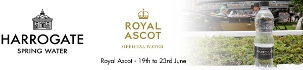 Harrogate Spring Water official water of Royal Ascot